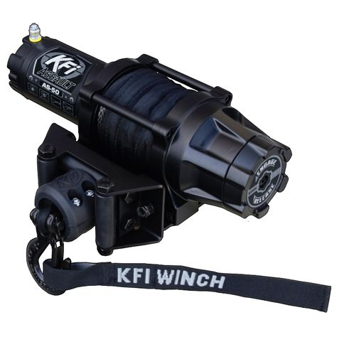 Capacity KFI Products SE45 ATV Stealth Winch Kit 4500 lb