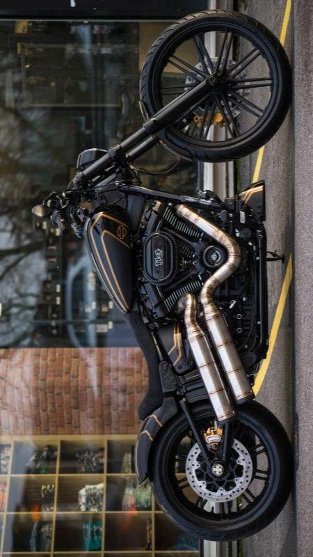 "Harley-Davidson FXDR Custom ""Golden Edge"" by BTChoppers"