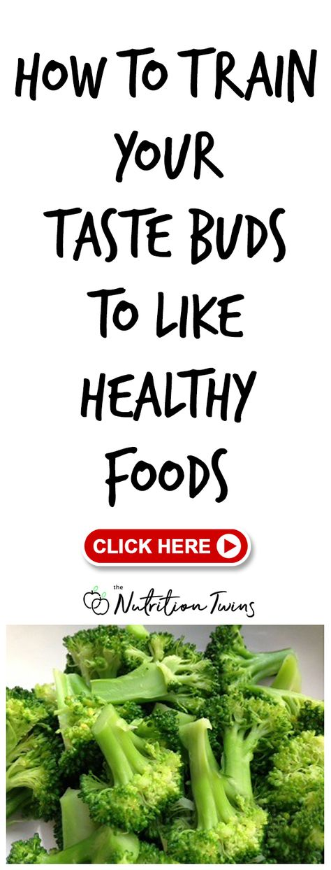Train Your Taste Buds To Like Healthy Foods | Crave Weight Loss Foods  foods Packed with Anti-inflammatory compounds like Broccoli, Turmeric Drinks and Brussel Sprouts | Awesome way to get you and your family to eat Healthy Recipes | For MORE Nutrition  Fitness Tips  Inspiration  RECIPES please SIGN UP for our FREE NEWSLETTER www.NutritionTwins.com