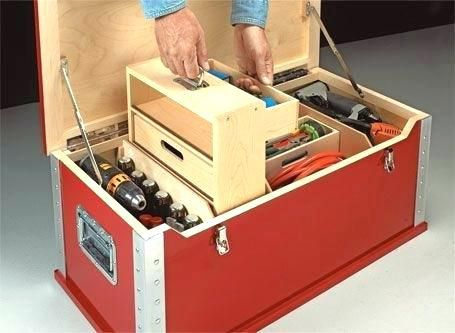 Diy Toolbox Organizer Tool Box Toolbox Ideas Tool Shop