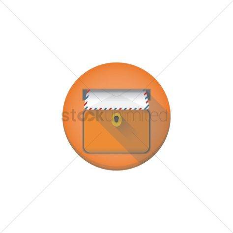 Postbox with letter vector illustration , #AFFILIATE, #letter, #Postbox, #illustration, #vector #affiliate