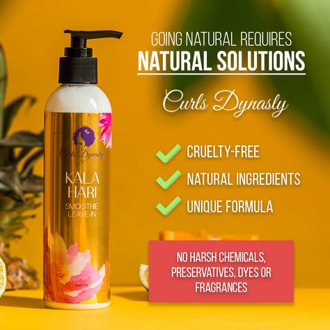 Natural and safe hair care products for textured hair