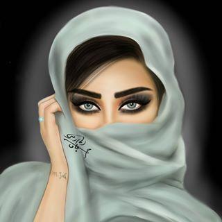 مصطفى الجاف رسام رقمي Mostafa Jaf Fotos Y Videos De Instagram Cute Girl Drawing Headshots Women Cute Cartoon Girl