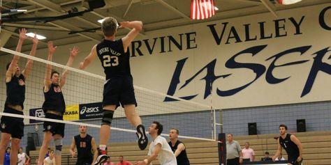 Irvine Valley College Men S Volleyball Team Digs Pink Valley College Mens Volleyball Coaching Volleyball