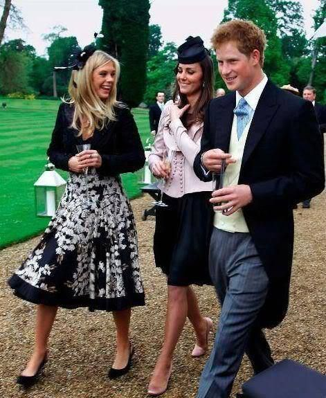 Kate Middleton, Duchess of Cambridge attended Peter Philips wedding (17 May 2008).