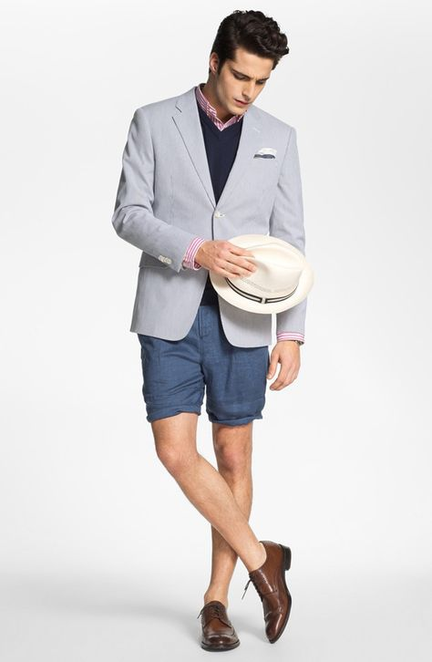 The Tie Guy — Is it appropriate to wear a blazer with shorts...