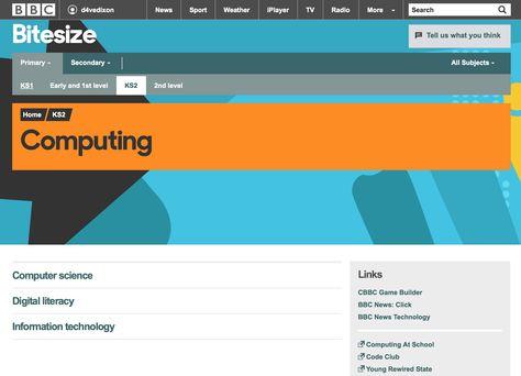 Image result for bbc bitesize ks2 computing