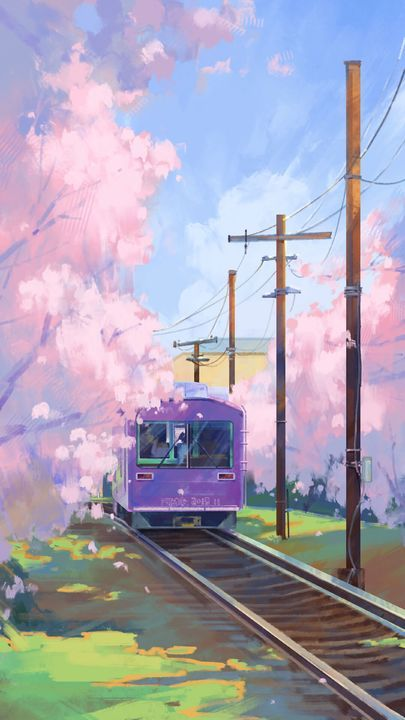The Latest Iphone11 Iphone11 Pro Iphone 11 Pro Max Mobile Phone Hd Wallpapers Free Download Train R Anime Scenery Wallpaper Scenery Wallpaper Anime Scenery Anime background wallpaper iphone