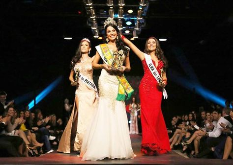 Júlia Gama Crowned Miss World Brazil 2014