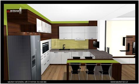 7274ee6c1e10 3D návrh kuchyně Vysočina 2