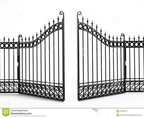 Clipart Fences And Gates Gate Clip Art Images Clipart Panda