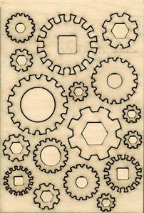 Traplet Shop | Wooden Craft Shapes | Craft Supplies | Steampunk Cogs