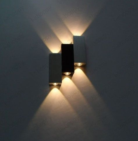 6w Dimmable Led Wall Sconce Light Porch Lobby Hall Modern Decor Lamp Warm White Ipy