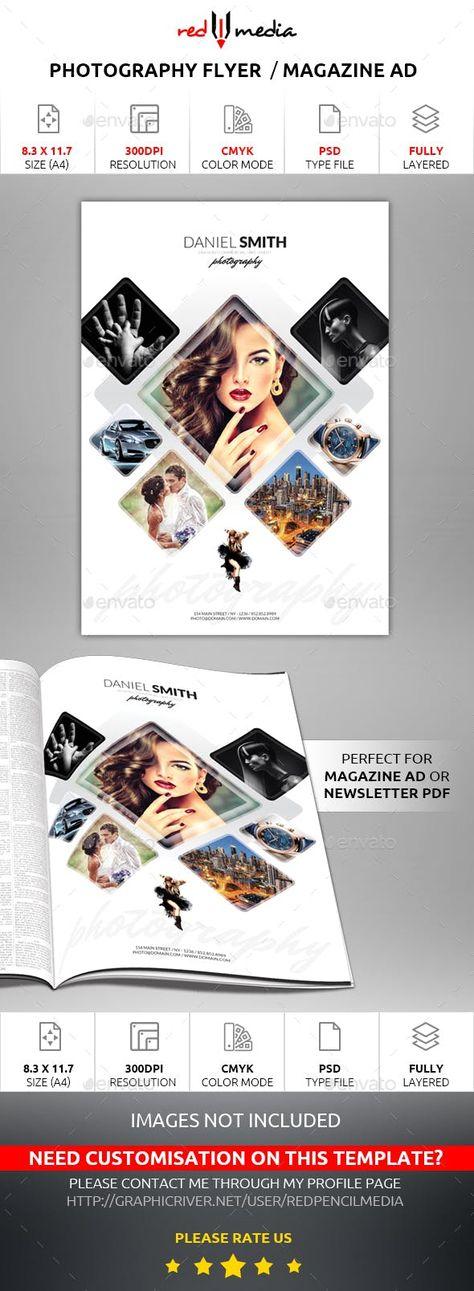Photography Flyer / Magazine AD