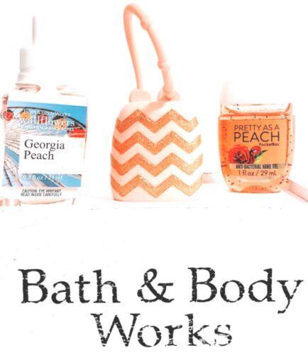 Bath Body Works Pretty As A Peach Wallflower Pocketbac Pocketbac Holder Bath Body Bath Body Works Body Works