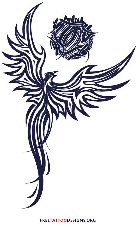 Tribal Phoenix Phoenix Phoenix Tattoo Design Tribal Phoenix
