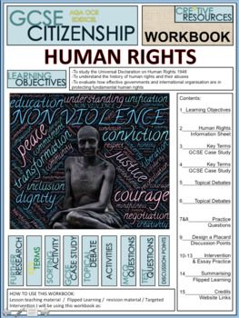 Human Rights Work Booklet Of Student Activities And Worksheets Education Resources Teaching Student Activities Social Studies Teacher