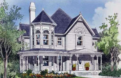 Home Plan The Eden W Pin 171 This Timeless Victorian Facade Is Sure To Catch The Eye Of All Who Pass By The Eden Victorian House Plans Eden House House Plans