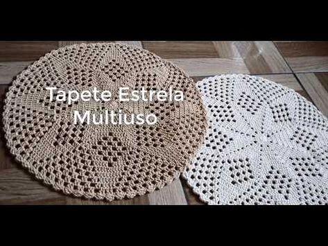(1) TAPETE ESTRELA MULTIUSO - TAPETE ECONÔMICO - TAPETE VIVI COELHO - YouTube
