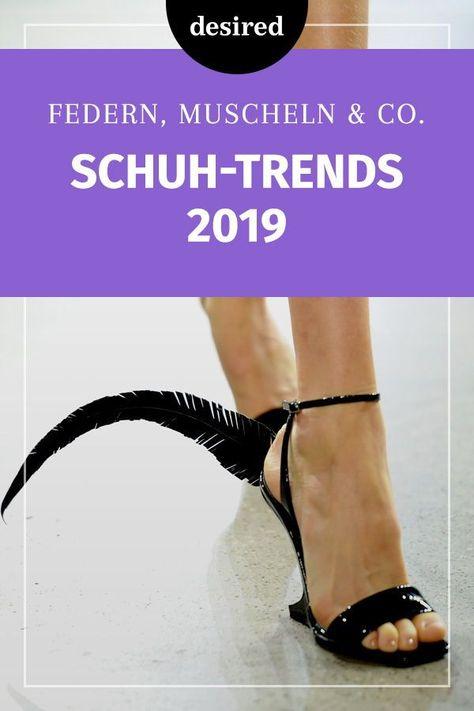 Wow! So verspielt sind die Schuhtrends 2019 - #accessoire #die #Schuhtrends #sind #verspielt #Wow