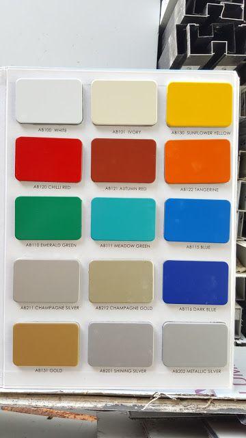 Katalog Warna Alucopan