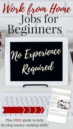 Work from Home Jobs for Beginners -- No Experience Required!