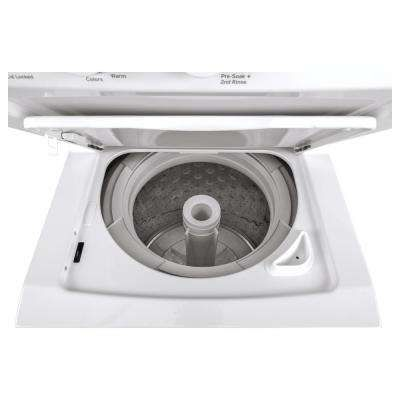 White Laundry Center With 2 3 Cu Ft Washer And 4 4 Cu Ft 240