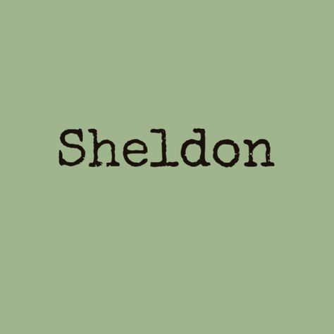 Sheldon - Nerdy Baby Names That Are Totally Cute - Photos
