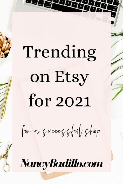Trending On Etsy 2021