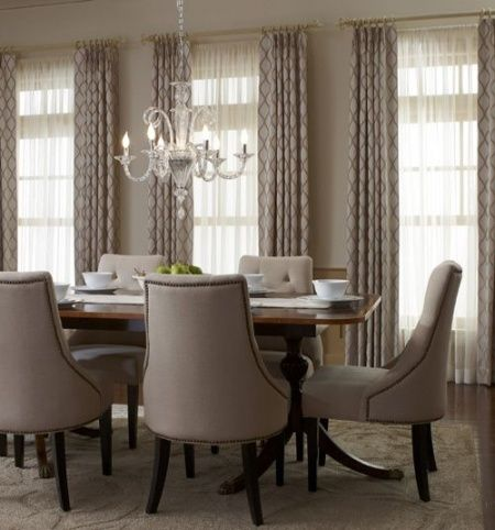 8 Best Dining Room Curtain Panels Images Dining Room Window Treatments Dining Room Drapes Dining Room Curtains