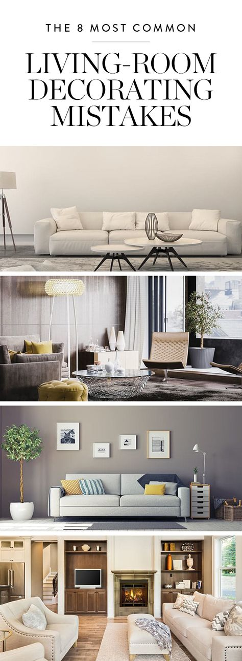 The 8 Most Common Living-Room Decorating Mistakes
