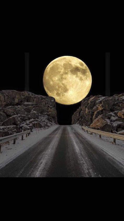 "Moon ~ photo taken at Kailas-Maanasa Sarovar-Tibet-China border from 18600 ft. height .… """