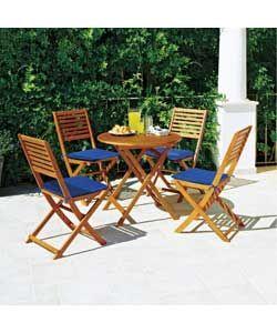 Buy Argos Home Newbury 4 Seater Wooden Patio Set   Patio ...
