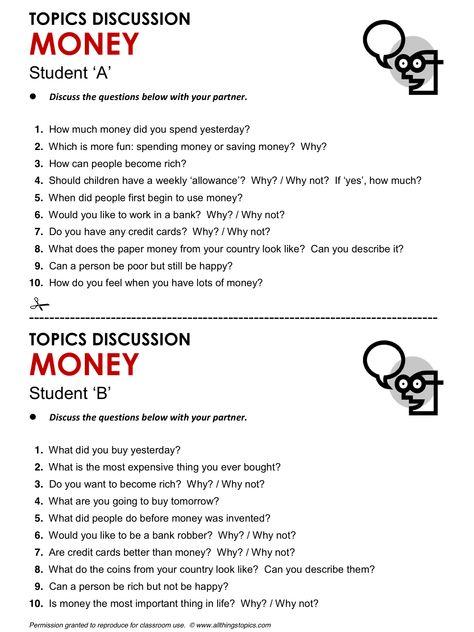 topics on english
