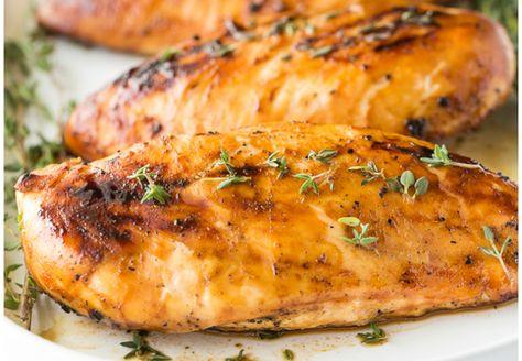 La recette facile de poulet grillée à l'érable et moutarde de Dijon!