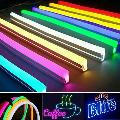 Advertisement Dc 12v Led Strip Neon Tube Rope Light Flexible Outdoor Boat Bar Sign Decor 1m 5m In 2020 Bar Signs Rope Light 12v Led