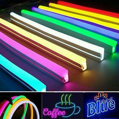 Advertisement Dc 12v Led Strip Neon Tube Rope Light Flexible Outdoor Boat Bar Sign Decor 1m 5m In 2020 Bar Signs Rope Light 12v Led