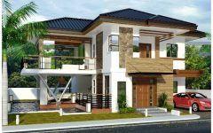Plan Maison Moderne Sans Etage Avec Porte D Entree Coulissante