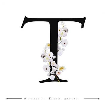 T Alphabet Letter Watercolor Floral Background Watercolor Color Floral Png And Vector With Transparent Background For Free Download Lettering Alphabet T Wallpaper Floral Background