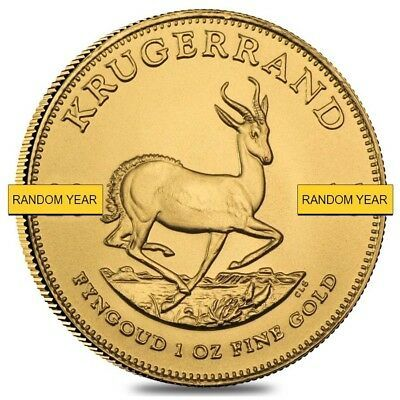 1 Oz South African Krugerrand Gold Coin Bu Random Year Ebay In 2020 Gold Coins Gold Bullion Coins Gold Bullion