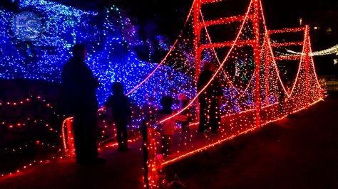 Christmas Lights - Cambria Pines Lodge 2015. Wanitoo.com ...