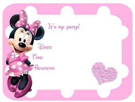 Free Minnie Mouse Invitations Best 25 Minnie Mouse Invitation Ideas On Pinterest Minnie Mouse Invitations Minnie Invitations Minnie Mouse Birthday Invitations