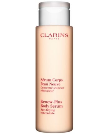Clarins Renew Plus Body Serum Body Care Serum Body Lotion