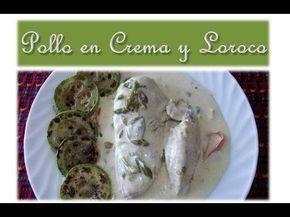 Receta Video Pollo En Crema Y Loroco Recetas Mundo Chapín Recipe Guatemalan Recipes Food From Different Countries Cooking Recipes