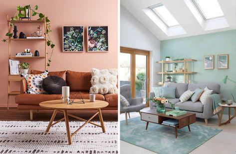 Une Deco Scandinave Coloree Sans Etre Bariolee On Joue La Carte Du Monochrome Deco Idee Deco Decoration Maison