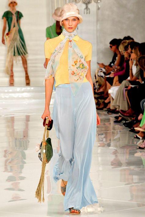 Ralph Lauren Spring 2012 Ready-to-Wear Fashion Show - Karlie Kloss