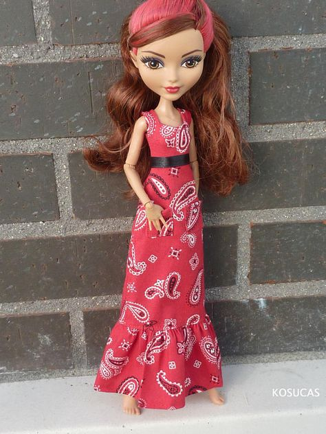 Dress for Ever After High dolls. | Rosabella beauty, Ever
