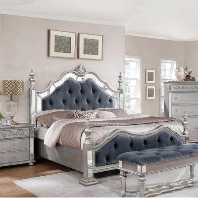 Rosdorf Park Kersey Panel Configurable 5 Piece Bedroom Set Bed Size: Eastern King