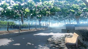 Park Background By Joeian Scenery Background Anime Backgrounds Wallpapers Anime Background