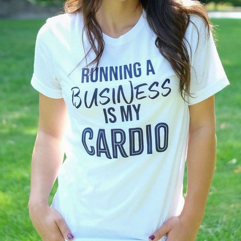 Running a Business is my Cardio - XL